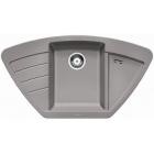 Blanco Zia 9 E aluminium SILGRANIT® PuraDur® II bez excentru (514757)