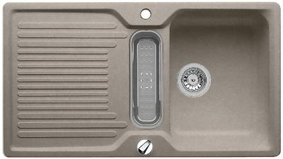 Classic 5 S-F dřez Silgranit tartufo 517306