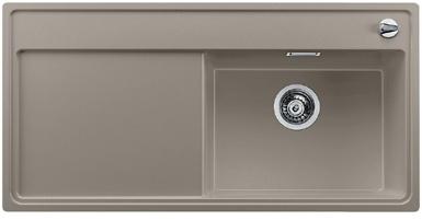 Zenar XL 6S-F dřez Silgranit tartufo (517410)