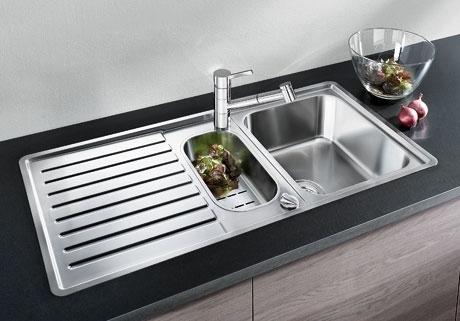 CLASSIC PRO 6 S-IF kuchyňský dřez nerez lesk, s excentrem a příslušenstvím 516852
