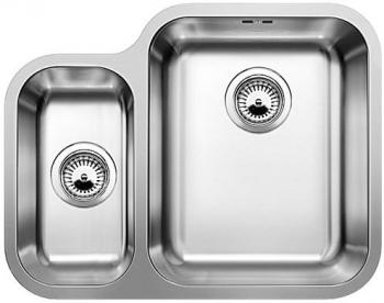 YPSILON 550-U kuchyňský dřez nerez lesk 518211