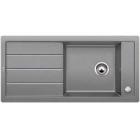 Blanco MEVIT XL 6 S aluminium SILGRANIT® PuraDur® II s excentrem 518364
