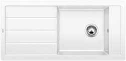 Blanco MEVIT XL 6 S bílý SILGRANIT® PuraDur® II bez excentru 518357