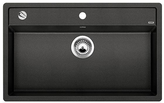 DALAGO 8-F antracit, kuchyňský dřez s excentrem SILGRANIT® 516639
