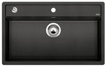DALAGO 8-F aluminium, kuchyňský dřez s excentrem SILGRANIT® 516640