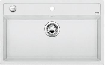 DALAGO 8-F bílá, kuchyňský dřez s excentrem SILGRANIT® 516644