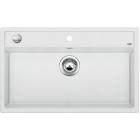 Blanco DALAGO 8-F bílá, kuchyňský dřez s excentrem SILGRANIT® 516644
