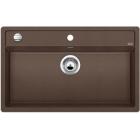 Blanco DALAGO 8-F kávová, kuchyňský dřez s excentrem SILGRANIT® 516645