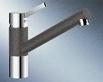 Blanco TIVO jasmín/ chrom beztlaková páková baterie, Silgranit 518419