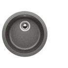 Blanco RONDO aluminium SILGRANIT® PuraDur® II bez excentru 511704