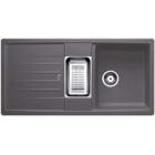 Blanco Lexa 6 S šedá skála SILGRANIT® PuraDur® II bez excentru (518861)
