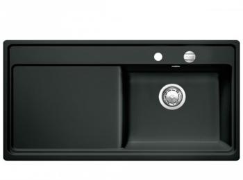 Blanco Zenar XL 6 S dřez keramika PuraPlus černá, pravý (517534)