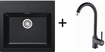 Franke SET T25 - SID 610 černá + FP 9000 onyx