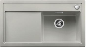 Blanco ZENAR 5 S Silgranit aluminium dřez vpravo s excentrem (520455)