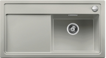 ZENAR 5 S Silgranit aluminium dřez vpravo s excentrem (520455)