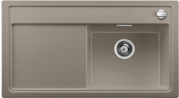 Blanco ZENAR 5 S Silgranit tartufo dřez vpravo s excentrem (520460)