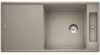 Blanco AXIA III XL 6 S InFino Silgranit perlově šedá skleněná kráj. deska oboust.provedení - 522182