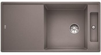 Blanco AXIA III XL 6 S InFino Silgranit aluminium skleněná kráj. deska oboustr.provedení - 522181