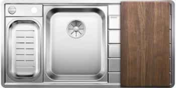 Blanco AXIS III 6 S-IF Edition InFino nerez hedvábný lesk dřez vlevo s exc. přísluš. ano - 522107