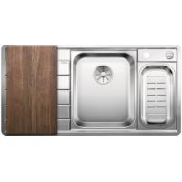 Blanco AXIS III 6 S-IF Edition InFino nerez hedvábný lesk dřez vpravo s exc. přísluš. ano - 522106