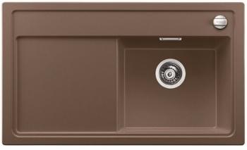 Blanco ZENAR 45 S Silgranit muškát dřez vpravo s excentrem a dřevěnou krájecí deskou - 521937
