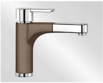 Blanco PYLOS-S Silgranit-look dvoubarevná muškát/chrom - 521721