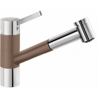 Blanco TIVO-S ND Silgranit-look dvoubarevná muškát/chrom beztlaková - 521708