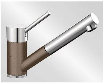 Blanco ANTAS-S HD Silgranit-look dvoubarevná muškát/chrom - 521703