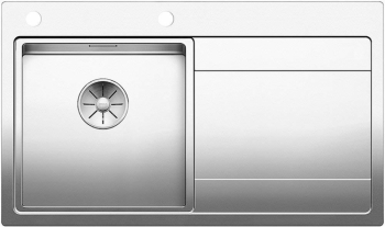 Blanco DIVON II 45 S IF InFinoNerez hedvábný lesk dřez vlevo s excentrem - 521657