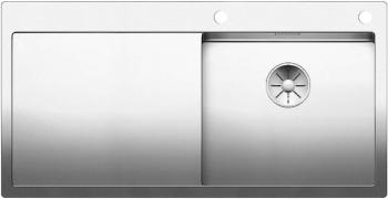 Blanco CLARON 5 S-IF InFino Nerez hedvábný lesk dřez vpravo s táhlem - 521625