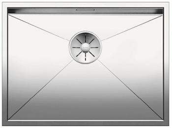 Blanco ZEROX 550 U InFino Nerez hedvábný lesk bez táhla - 521591