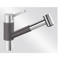 Blanco TIVO-S ND Silgranit-look dvoubarevná šedá skála/chrom beztlaková - 518799