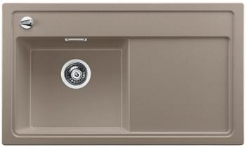 Blanco ZENAR 45 S Silgranit tartufo dřez vlevo s excentrem a skleněnou krájecí deskou - 519269