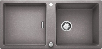 Blanco ADON XL 6 S Silgranit aluminium obous. prov. s excentrem přísluš. ano - 519619