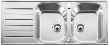 Blanco LANTOS 8 S-IF Compact nerez kartáčovaný oboustranné provedení s excentrem - 519713