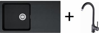 Franke SET T41 - OID 611 černá + FP 9000 grafit