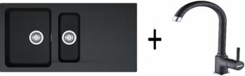 Franke SET T45 - OID 651 černá + FP 9000 grafit