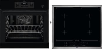 AEG Mastery SteamBake BEB351110B + AEG Mastery HK654400XB