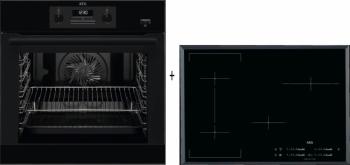 AEG Mastery SteamBake BEB351110B + AEG Mastery HK754400FB