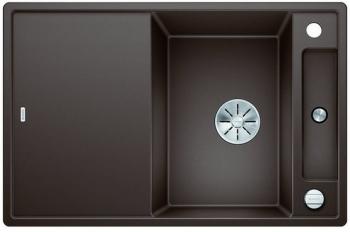 Blanco AXIA III 45 S-F InFino silgranit káva dřez vpravo s excentrem přísluš. sklo - 523204
