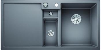 Blanco COLLECTIS 6 S InFino Silgranit aluminium dřez vpravo s excentrem přísluš. ano - 523346