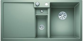 Blanco COLLECTIS 6 S InFino Silgranit perlově šedá dřez vpravo s excentrem přísluš. ano - 523347