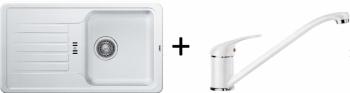 Blanco SET 09 - A ( 521404 FAVOS Mini + 517724 DARAS ) bílá