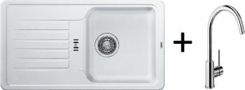 Blanco SET 09 - C ( 521404 Favos Mini bílá + 517742 MIDA chrom )