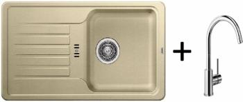 Blanco SET 09 - C ( 518185 Favos Mini béžová champagne + 517742 MIDA chrom )