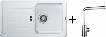 Blanco SET 09 - D ( 521404 Favos Mini bílá + 519414 MILA chrom )