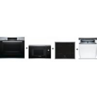 Bosch HBA554BS0 + BFL523MS0 + PUE645BB1E + SMV46KX01E