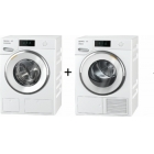 Miele WWR880 WPS PWash2.0 & TDos XL & WiFi & Steam + TWR860 WP Eco&Steam WiFi&XL
