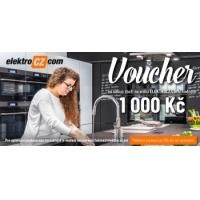 ElektroCZ.com Voucher v hodnotě 1000 Kč
