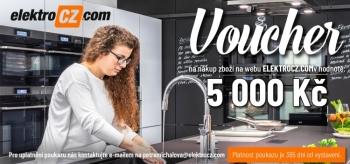 ElektroCZ.com Voucher v hodnotě 5000 Kč